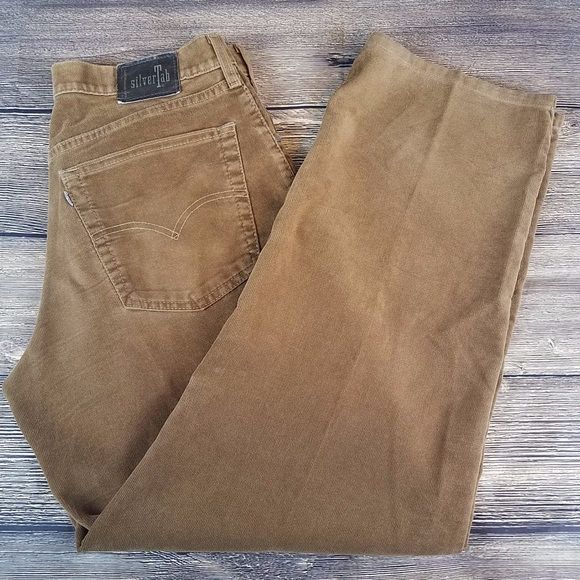 8f4acebedfc Levi's Pants | Levis Silvertab Mens Brown Baggy Corduroy | Poshmark